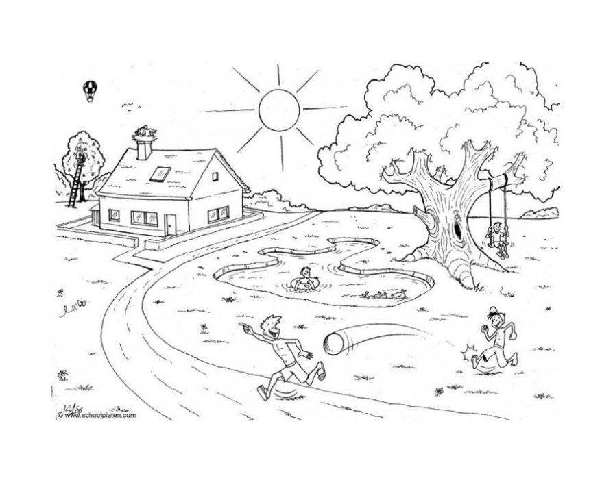 Картинки раскраски здравствуй лето