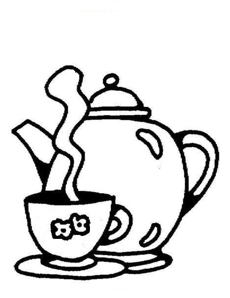 Чайник и кружечка