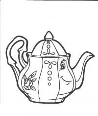 Иллюстрация 4 из 10 для забавные предметы. чайная посуда |заварной чайник