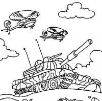 Раскраски танки скачать бесплатно вертолеты