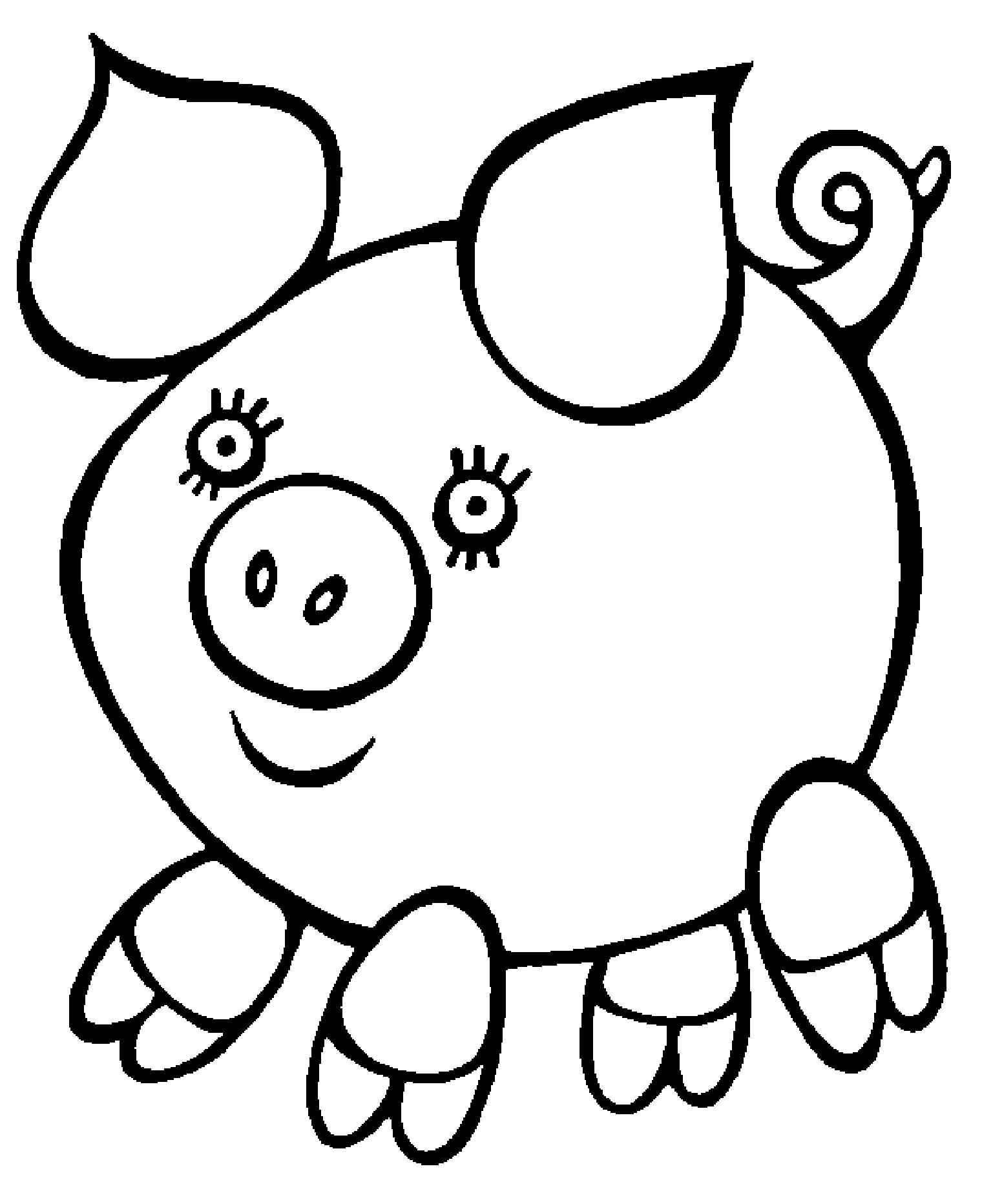 Раскраски для детей от 3 лет. Часть 2 - Моя семейка | Детские ... | 1864x1520