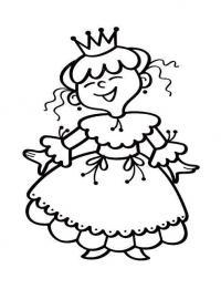Раскраски принцесс для детей 3 - 4 лет. есть принцесса на маскараде