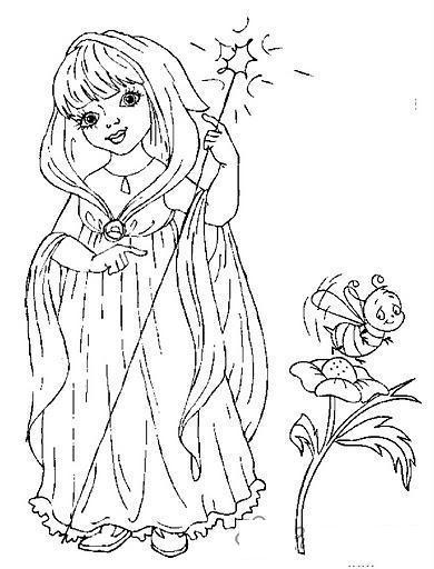 Раскраски персонаж девочкам, фея, игра, персонаж, светлячок, сияние, посох