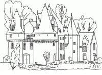 Раскраски страна путешествие страна замок история