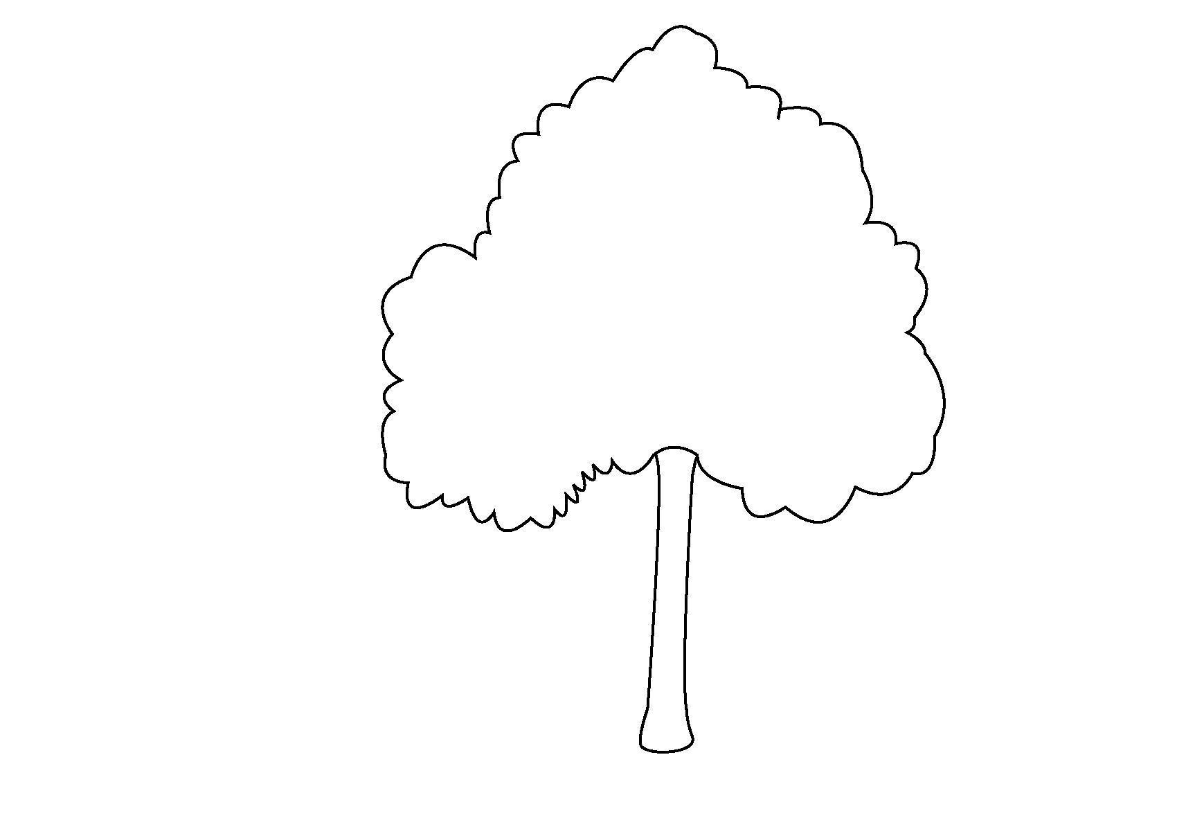 Для скачивания раскраска дерево