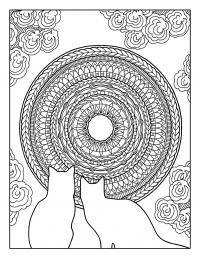 Кототерапия.раскраска-антистресс для творчества и вдохновения