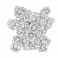 Медитативная раскраска для взрослых - шер кауфман
