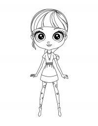 Детские раскраски для девочек и мальчиков, блайс