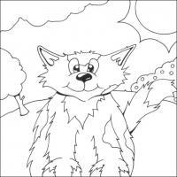 Распечатать раскраску кошки, коты и котята
