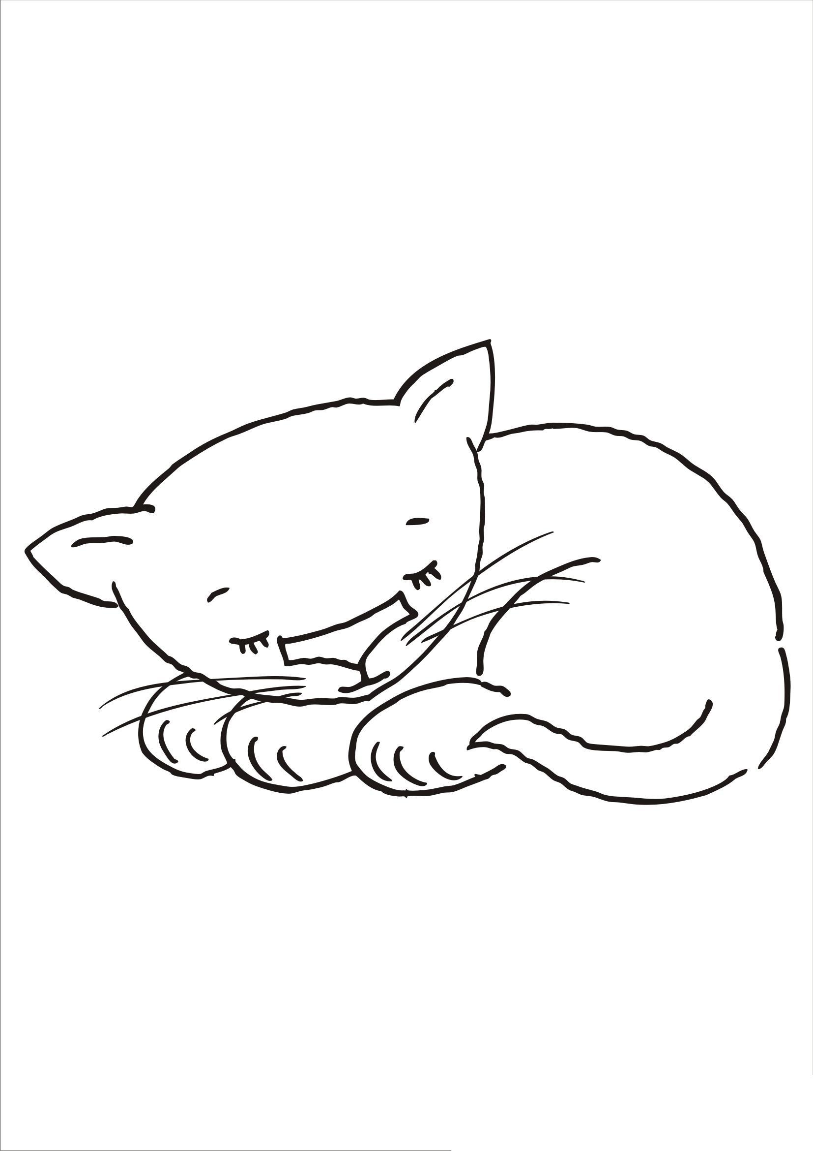 Раскраски кошки скачать