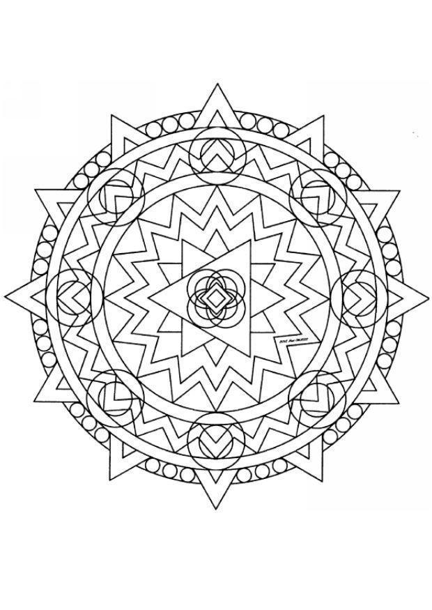 Рисунки для витражных красок, узор из линий