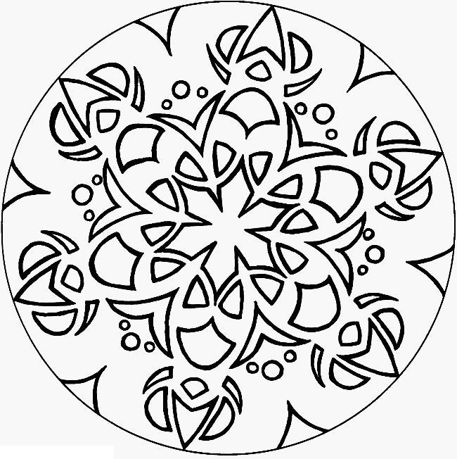 Рисунки для витражных красок, цветочный узор