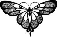 Бабочка для раскрашивания