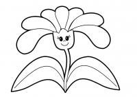 Красивые детские раскраски, раскраска для детей, раскраска для девочек, раскраска для мальчиков, цветок