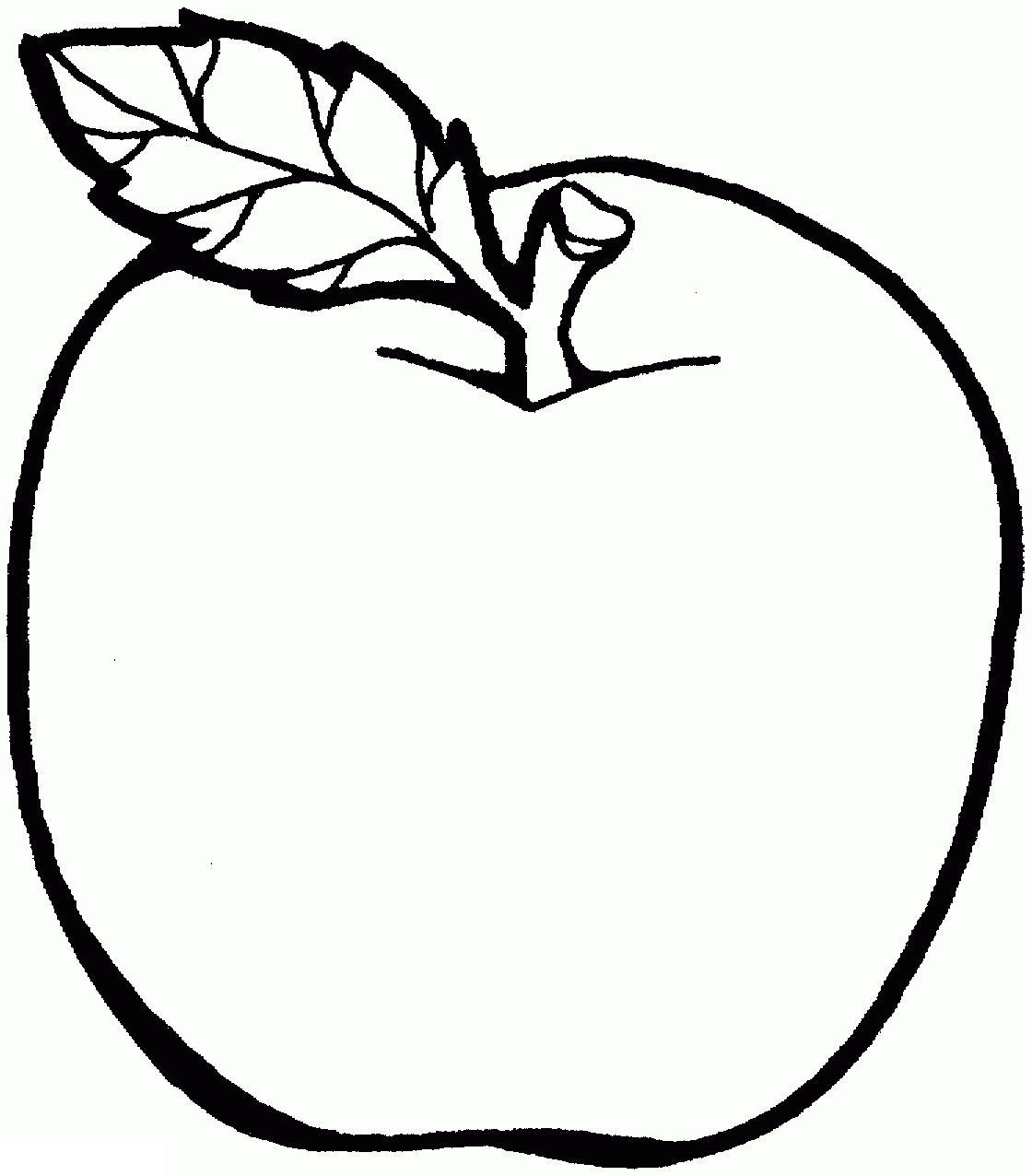 Раскраски фрукты  детские раскраски, раскраски яблок, фрукты