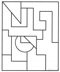 Раскраски раскрась геометрические фигуры геометрические фигуры, раскраска