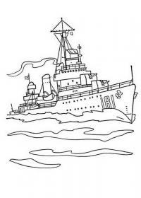 Скачать или распечатать раскраску распечатать скачать,корабль
