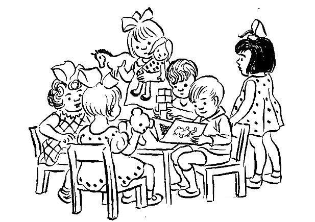 Раскраски дети праздник 1 июня день защиты детей дети игра лето чтение книга игрушки
