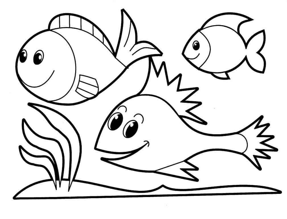 Скачать шаблоны рыбок для вырезания