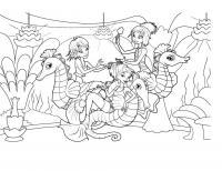 Раскраски подводный мир детская раскраска подводный мир
