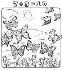 Раскраски насекомые развивающая раскраски ля детей