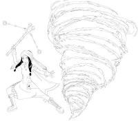 Раскраски явления раскраски явления природы, торнадо раскраски, ветер раскраски, девочка
