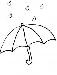 Раскраски явления раскраски для детей, явления природы, природа, зонт, дождь, раскраски для малышей, раскраски для сам...