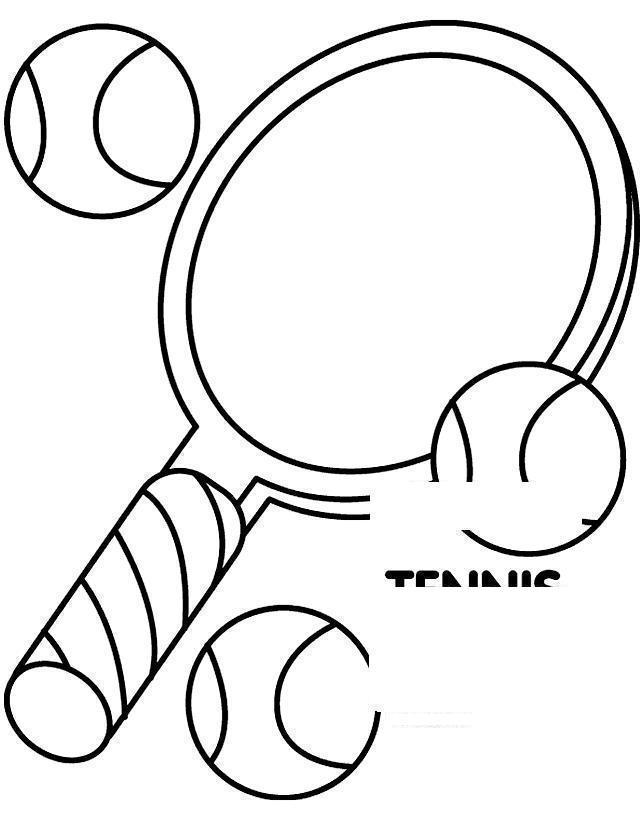 Раскраски теннис раскраска теннис