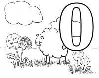 Раскраски развитие раскрась буквы, о облако, раскраски алфавита, азбука, раннее развитие