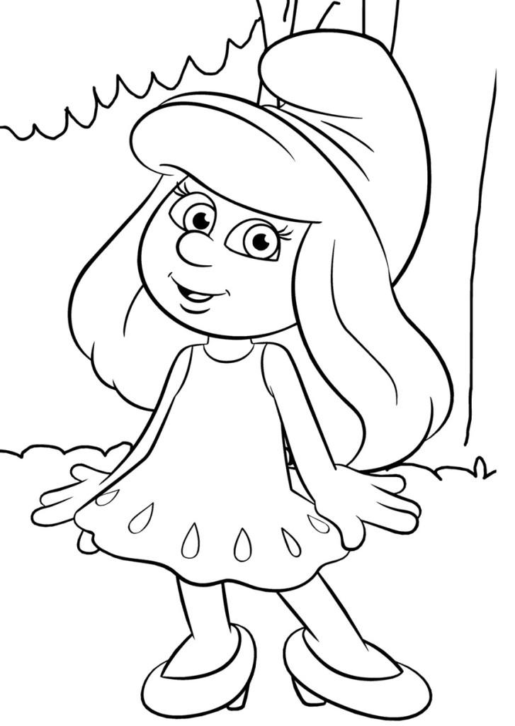 Раскраски для девочек распечатать мультики