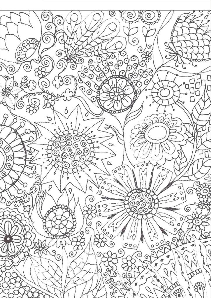 Цветы Раскраски антистресс скачать, раскраски для взрослых распечатать бесплатно Раскраски распечатать