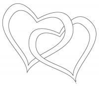 Раскраски день святого валентина день святого валентина, валентинка, сердца