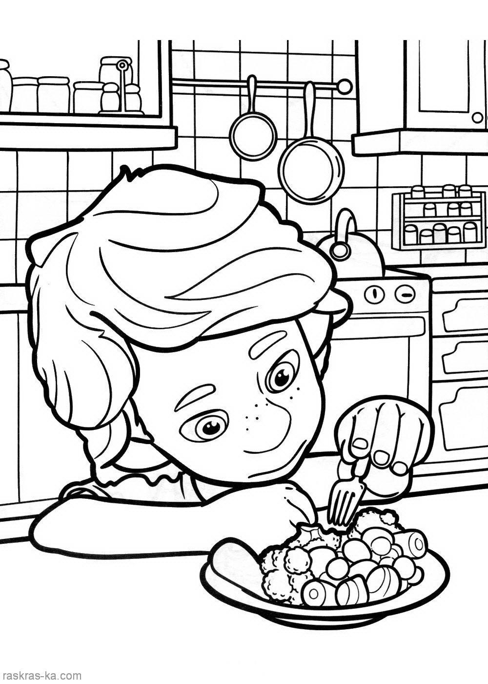 Мальчик Раскрашки фиксики (мультик) Раскраски распечатать