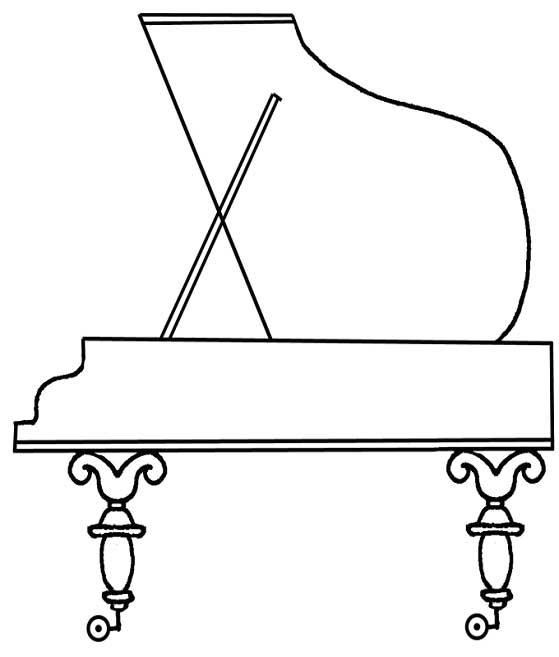 Рояль для детей