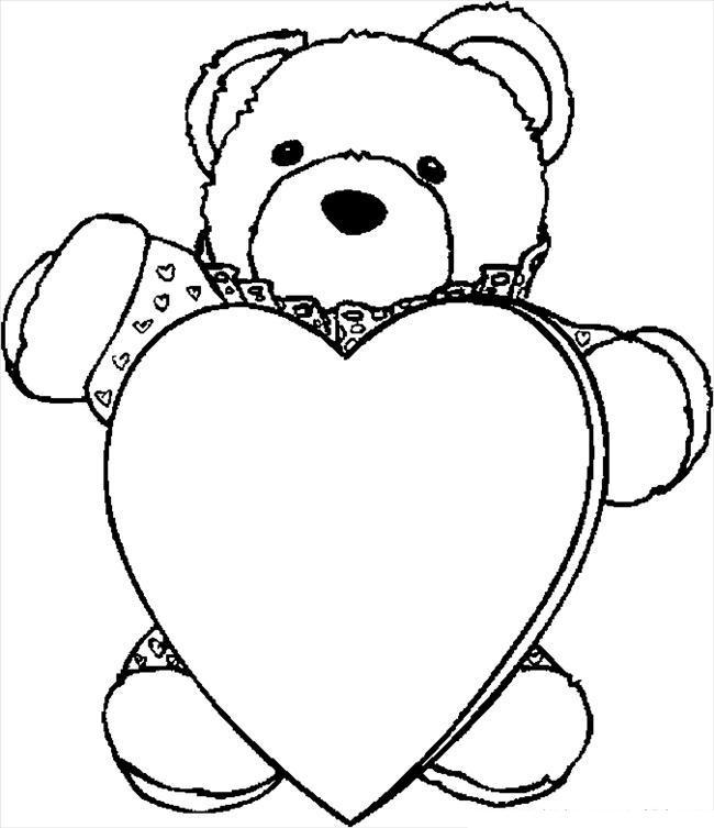 Мишка с сердцем