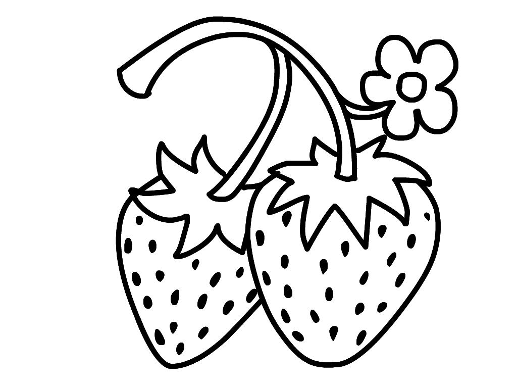 Картинка малина ягода для детей