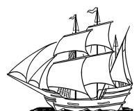 Раскраски корабли. раскраски для мальчиков.