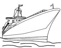 Раскраски корабли для мальчиков