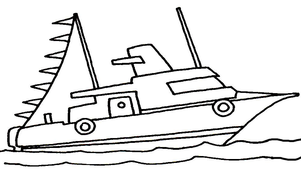 Корабль раскраски распечатать бесплатно.