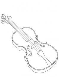 Скрипка большая