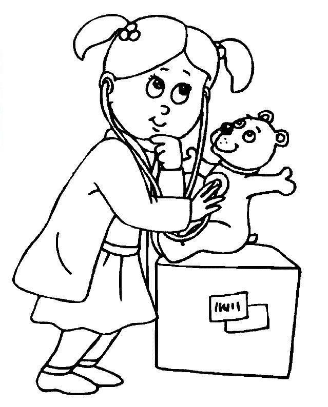 Игра девочка врач доктор