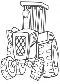Раскраска боб строитель