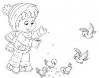 Детские раскраски с елочкой