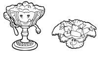 Забавные предметы. чайная посуда, варенница и конфетница