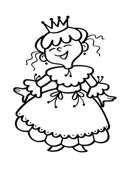 Раскраски принцесс для детей 3 - 4 лет. есть принцесса на ...