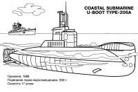 Раскраски корабли, подводные лодки, субмарина