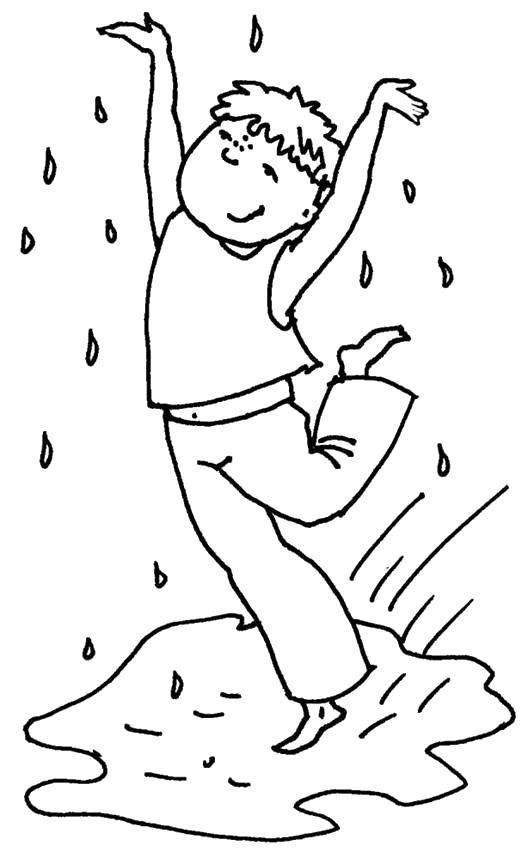 Рисунок раскраска из сказки о капельке