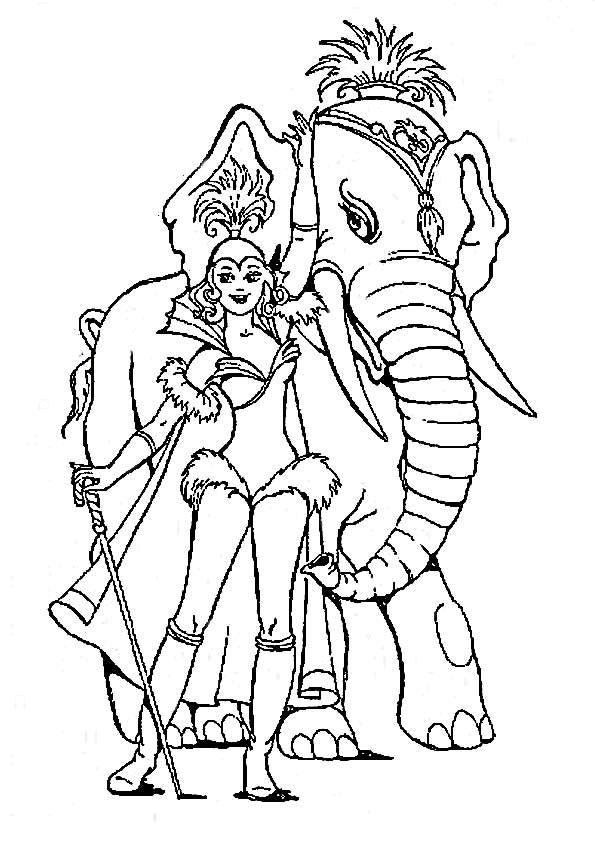 Цирк. слон