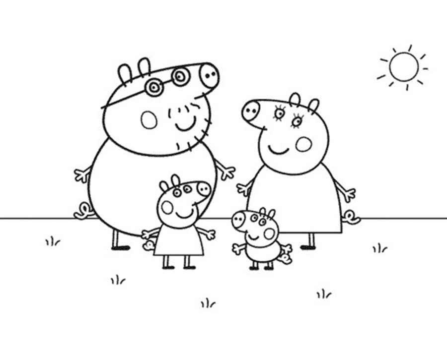Детские раскраски для девочек и мальчиков.