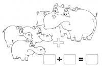 Примеры в картинках бегемоты